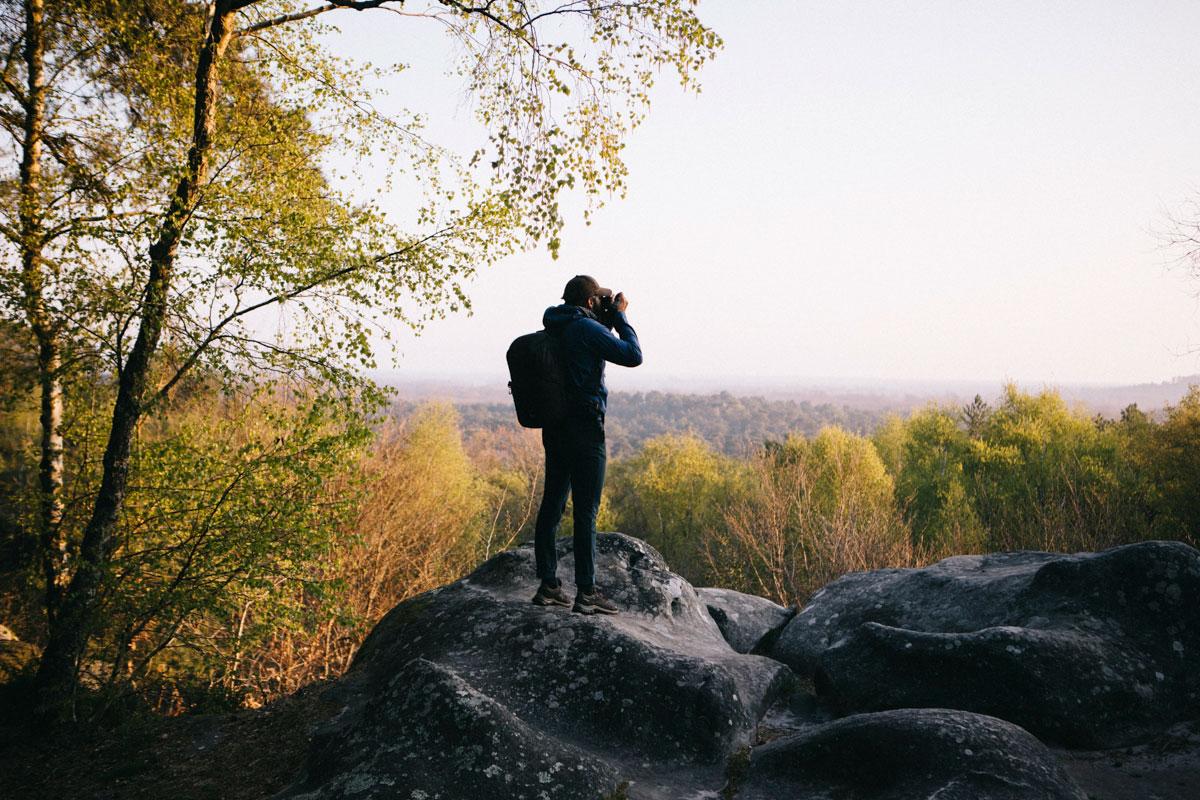 Photographie de paysage Fontainebleau