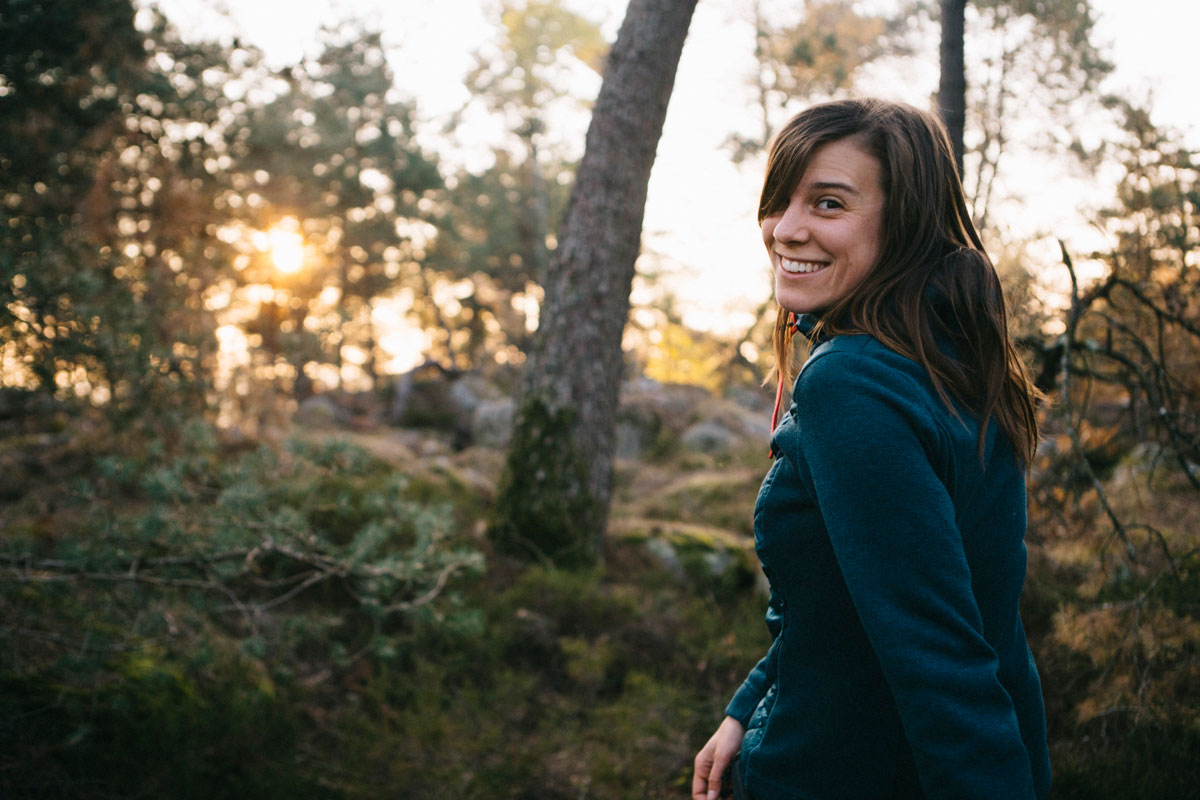 Portrait Alice à Fontainebleau itinéraire randonnée