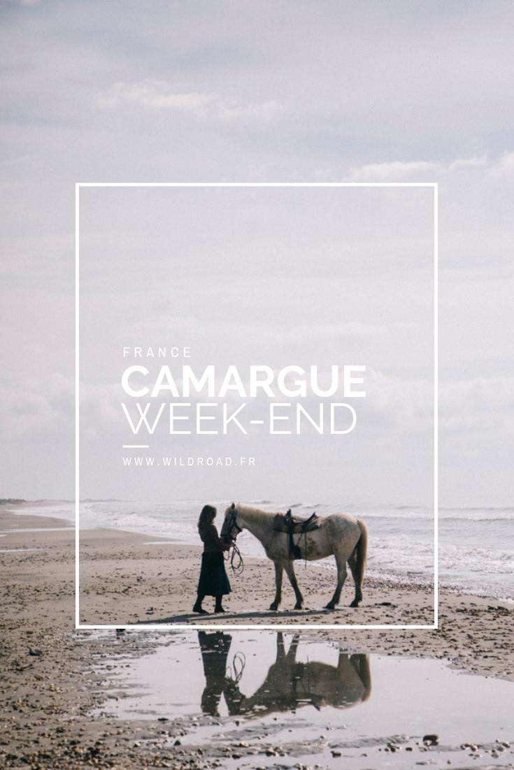 Séjour en Camargue pour deux jours faire du vélo du cheval et voir les flamants roses