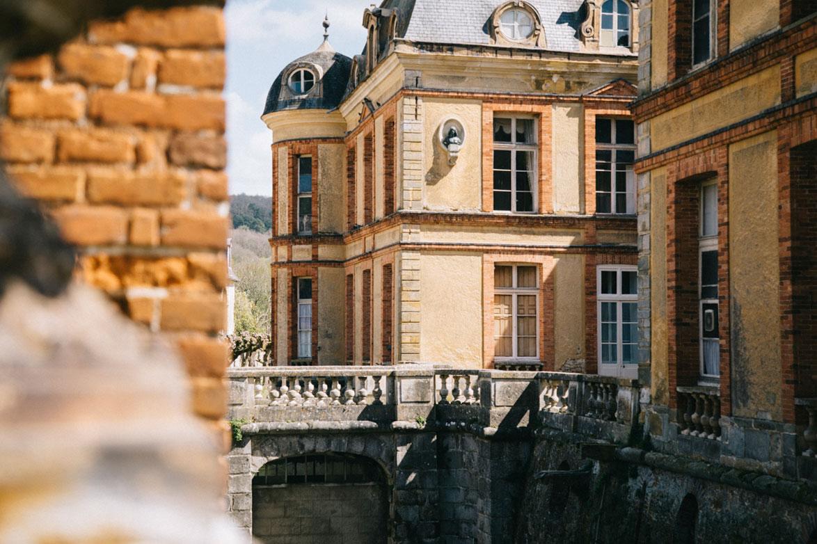 Les douves du château de Dampierre, yvelines