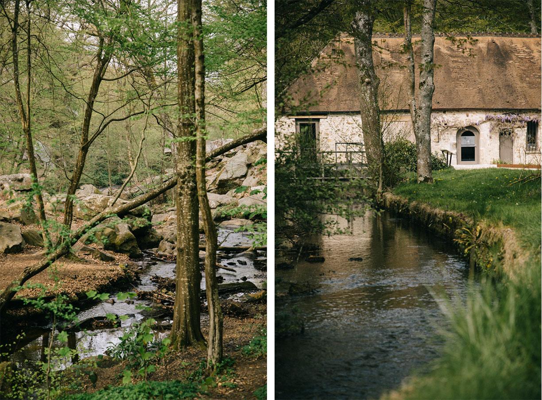 L'extérieur du petit Moulin, que faire dans la vallée de Chevreuse un week-end