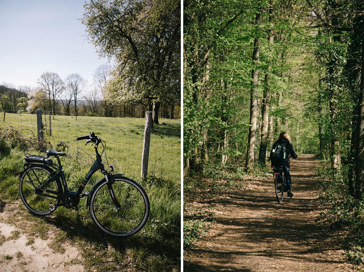 Faire du vélo électrique en Chevreuse, parc naturel régional de la vallée de chevreuse