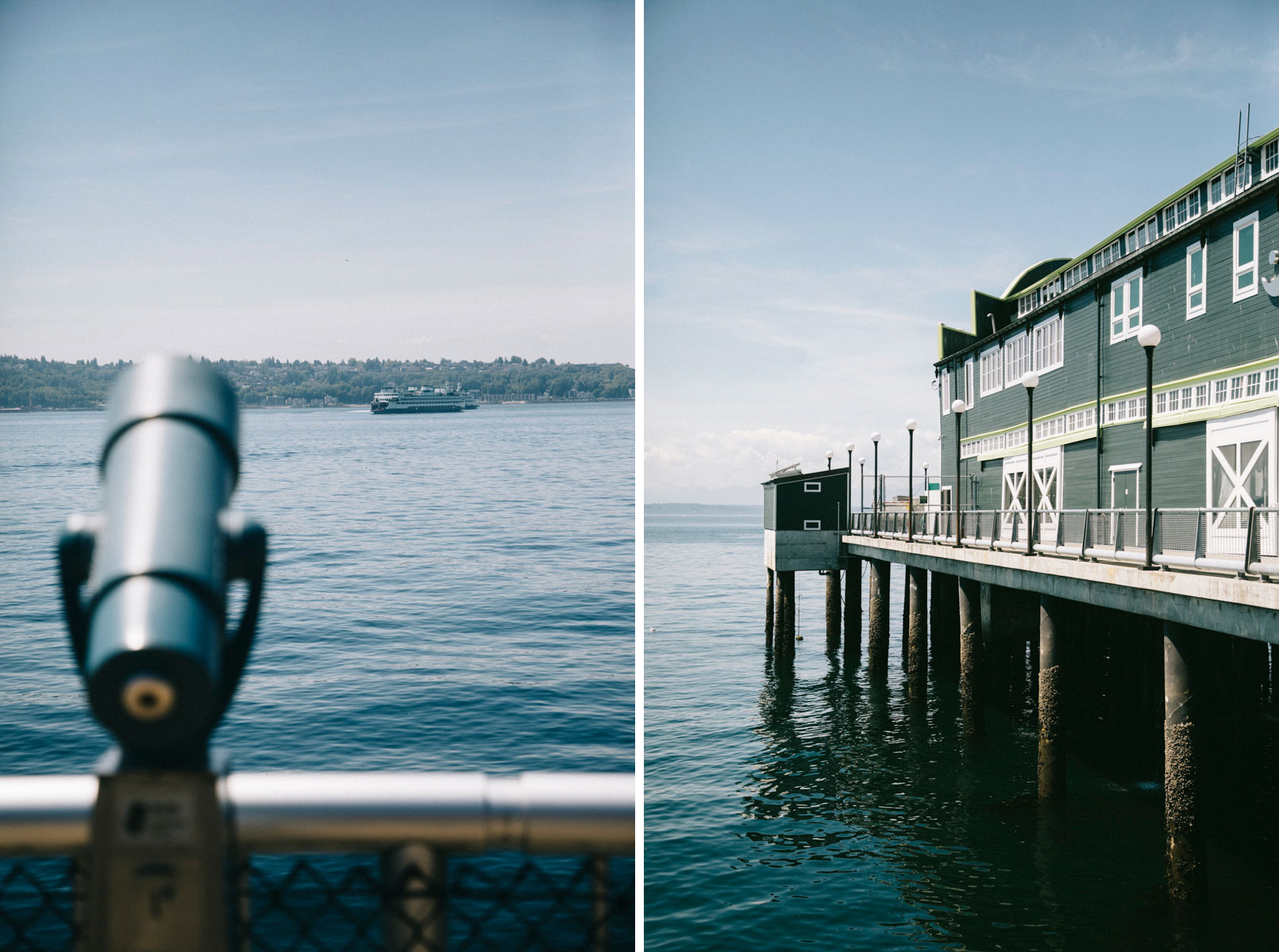 Les Ferries de Seattle depuis Waterfront