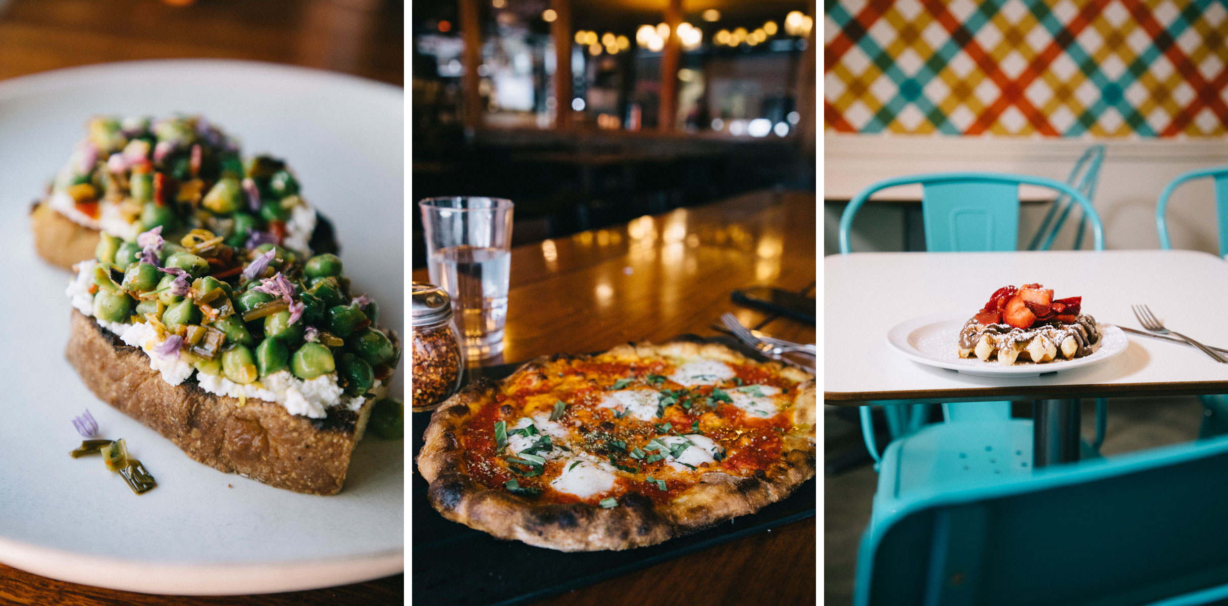 Les bonnes adresses pour manger à Seattle, serious pie, sweet iron