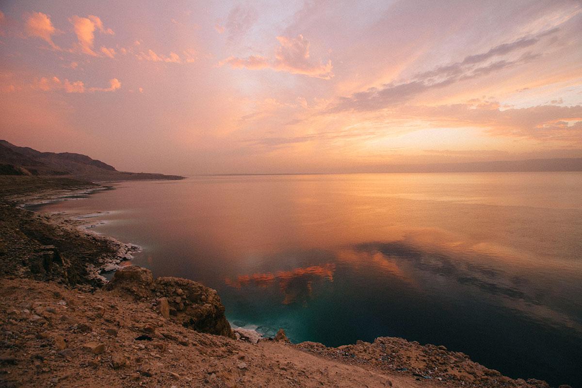 La mer morte zone de conflit avec l'israel