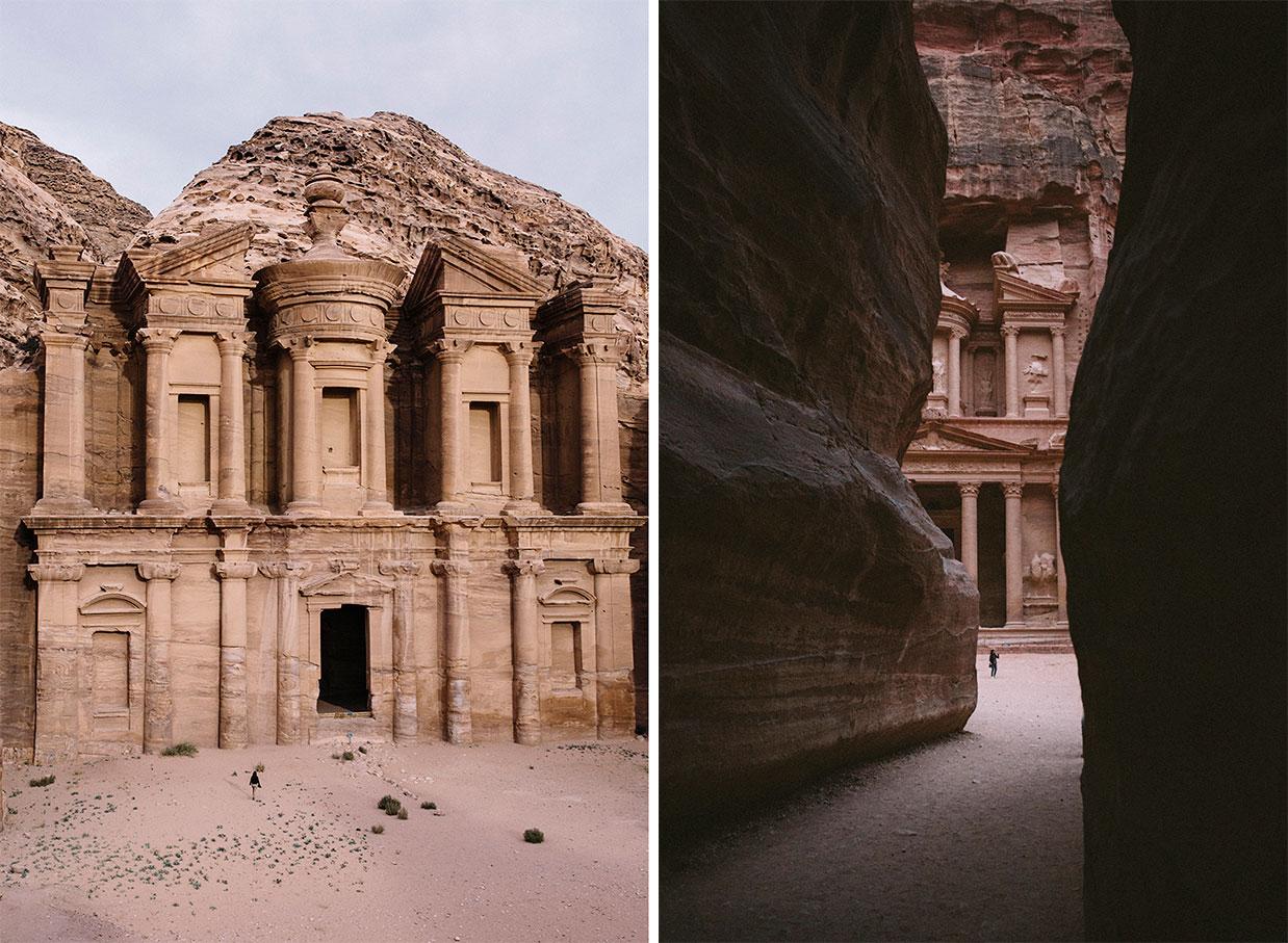 Petra avec le Jordan Pass pour économiser sur les activités