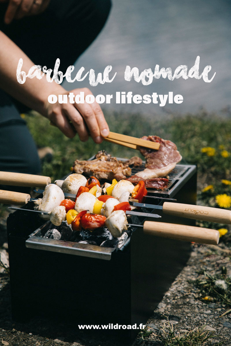 un barbecue nomade pour vos sorties outdoor