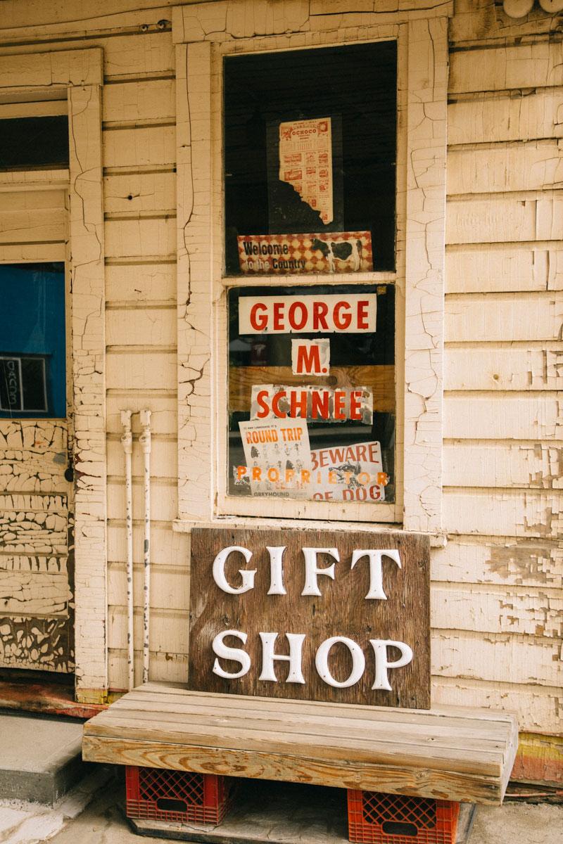 Mitchell gift shop
