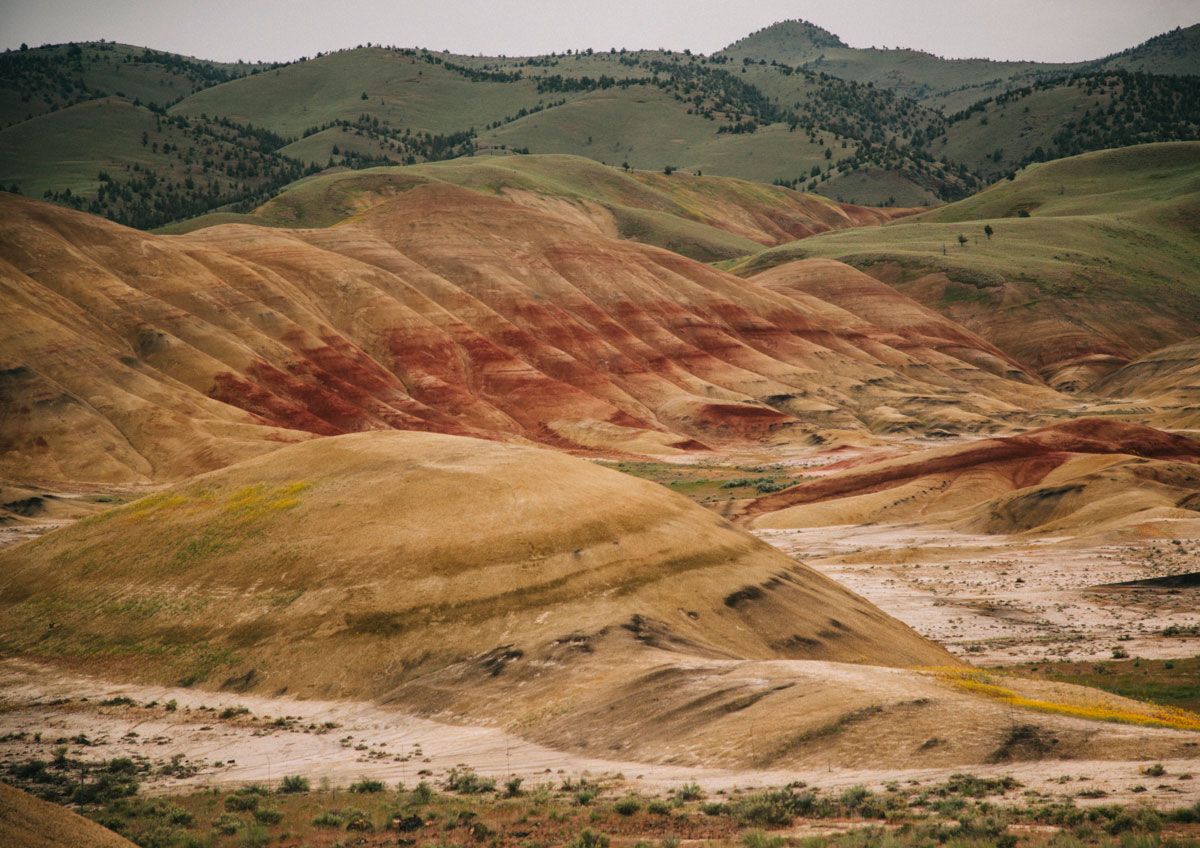 Overlook trail Painted Hills