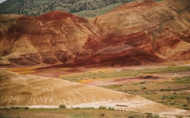 John Day fossil Beds national monument, que voir que faire : painted hill, sheep rock, clarno