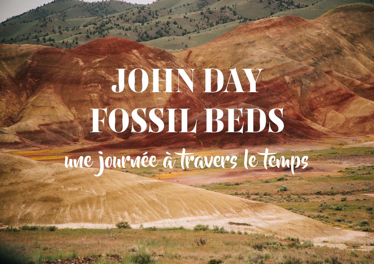 John Day Fossil beds national monument, une journée dans le passé