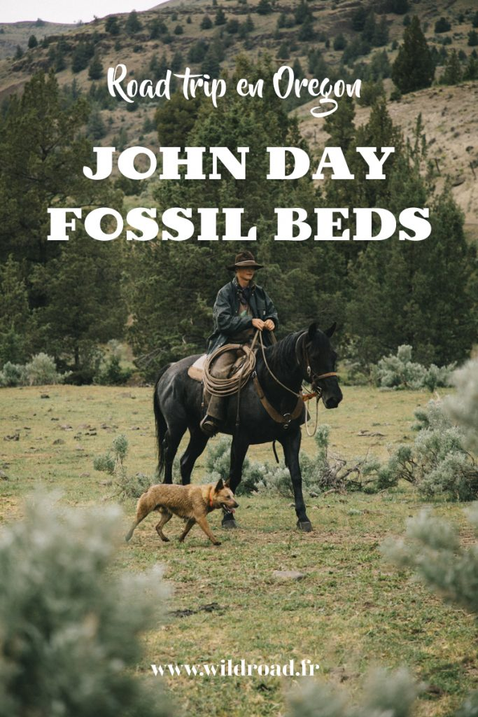 dans la peau d'un cow-boy à Fossil en Oregon