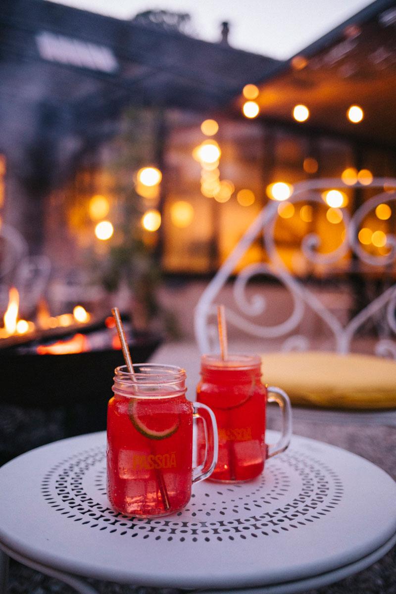 Cocktail au Barn avec un feu de bois, Rambouillet week-end