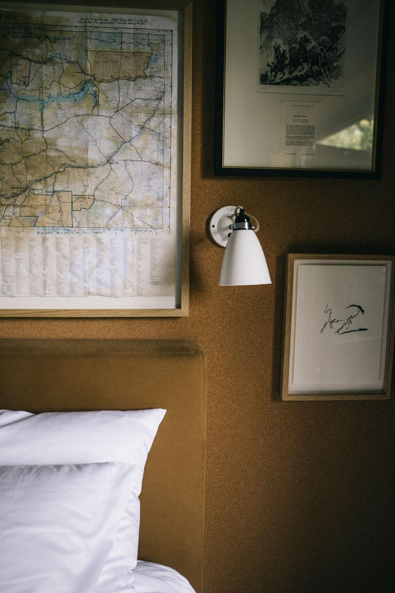 Décoration équestre dans la chambre, le Barn hôtel, Rambouillet