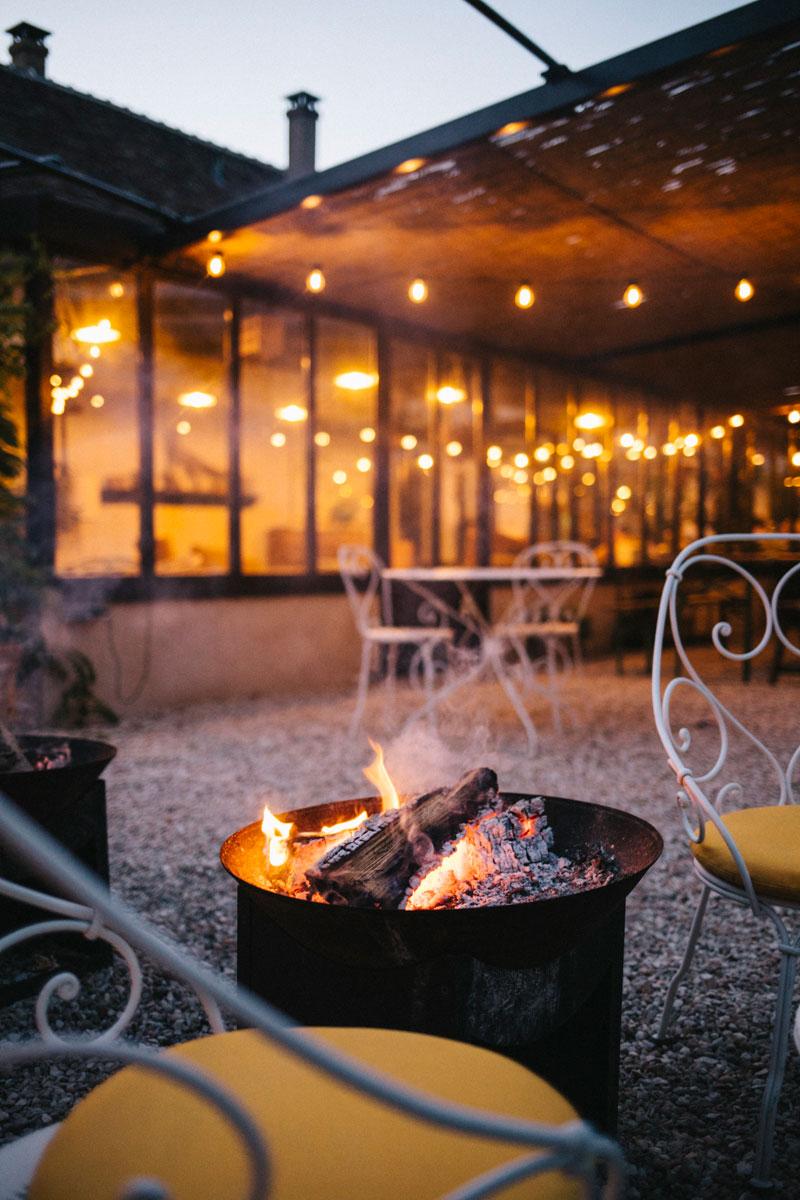 soirée feu de bois au Barn, week-end nature rambouillet