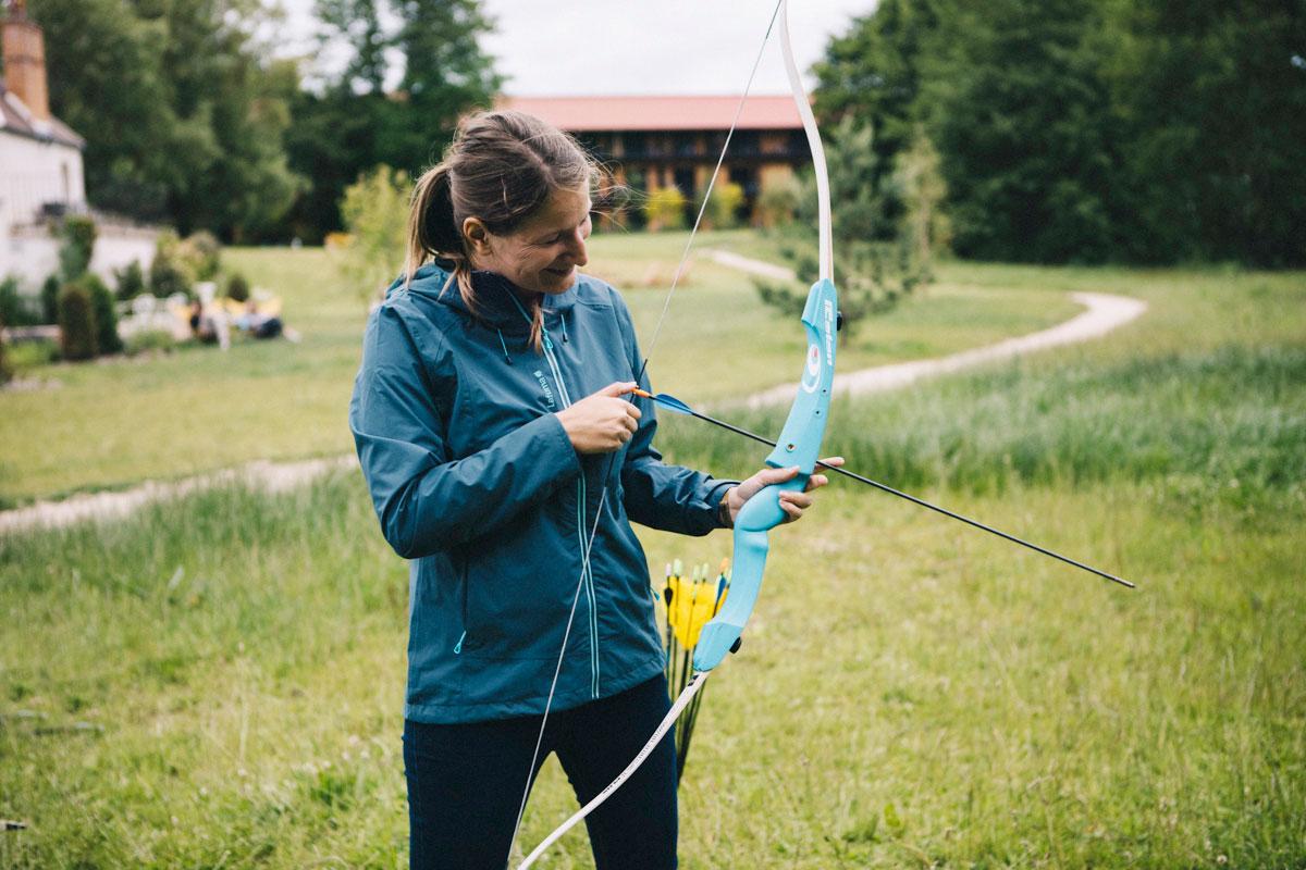 session tir à l'arc avec moi , barn hôtel, Rambouillet week-end
