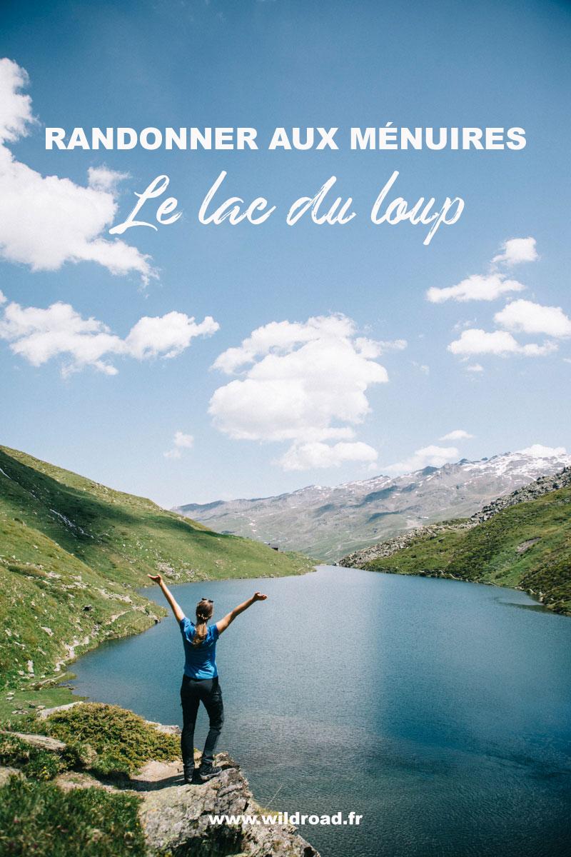 Randonnée facile aux Ménuires : le lac du loup