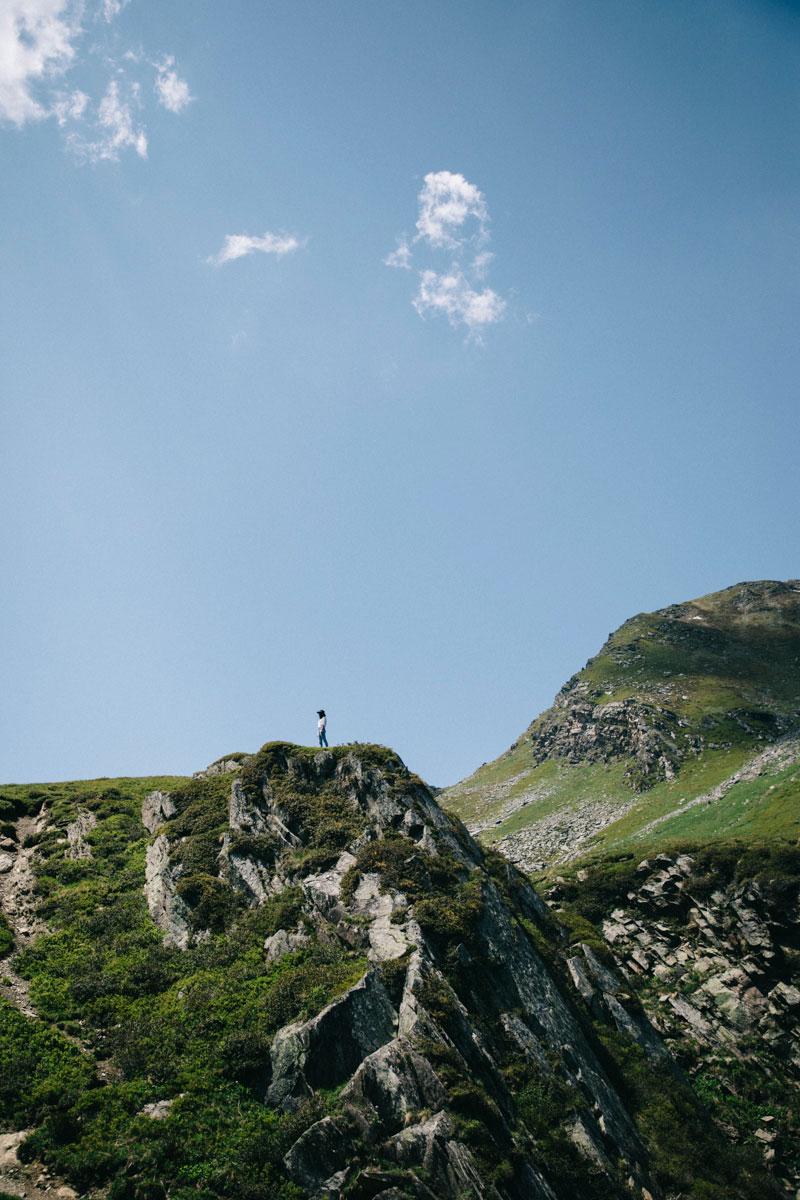Perdu dans les montagnes aux Ménuires