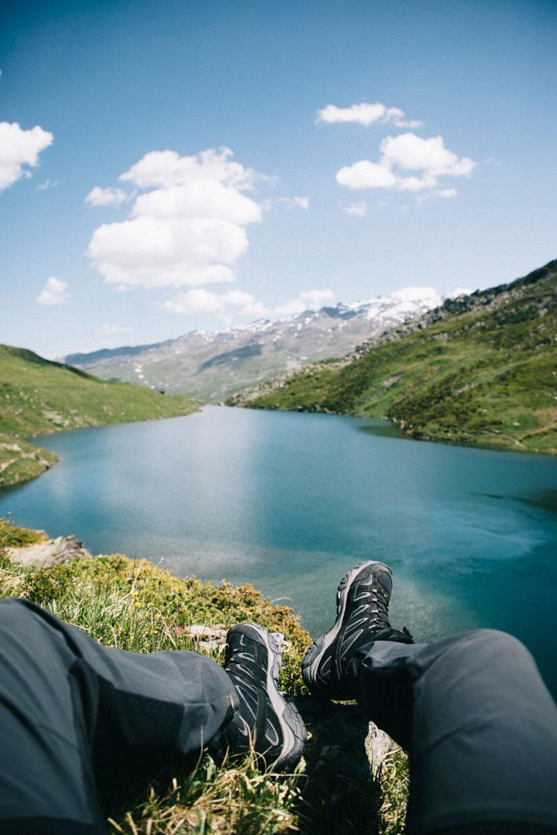 Les chaussures Merrell et le lac du Loup