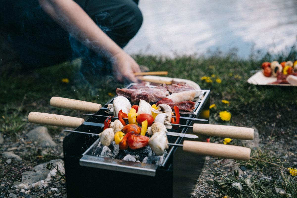 barbecue Yaki de Cookut en randonnée