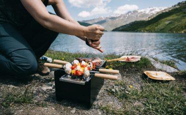 Barbecue au lac du loup aux Ménuires avec Cookut