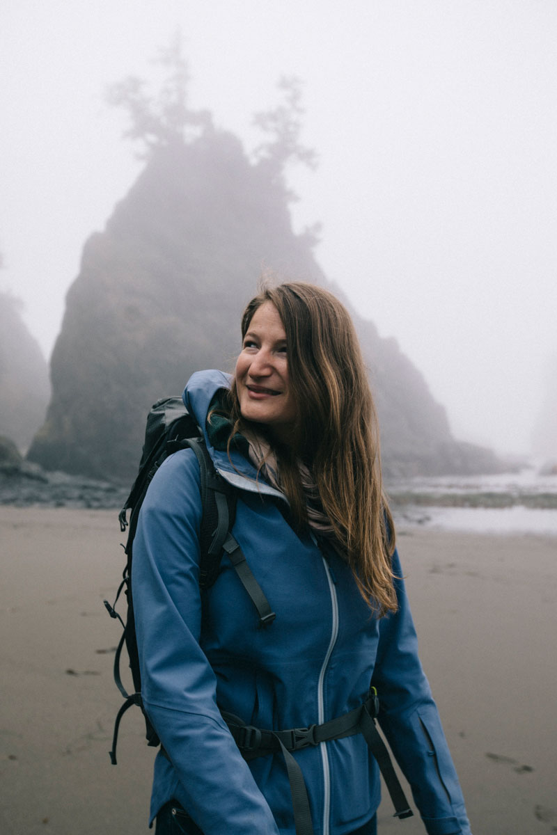 Portrait clara ferrand oregon Coast
