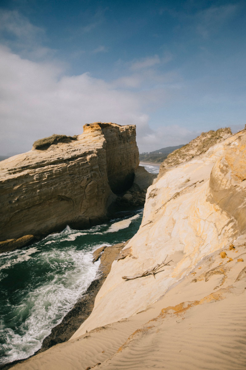 Cliffs de cape kiwanda