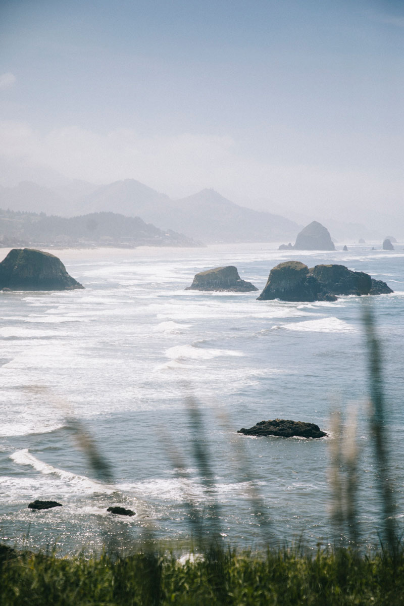 Ecola state park view