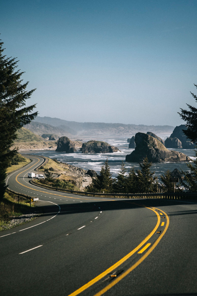 Oregon Coast road 101 Goldbeach