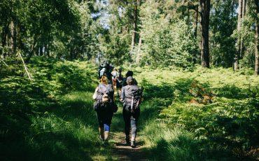 randonnée à Rambouillet sur deux jours