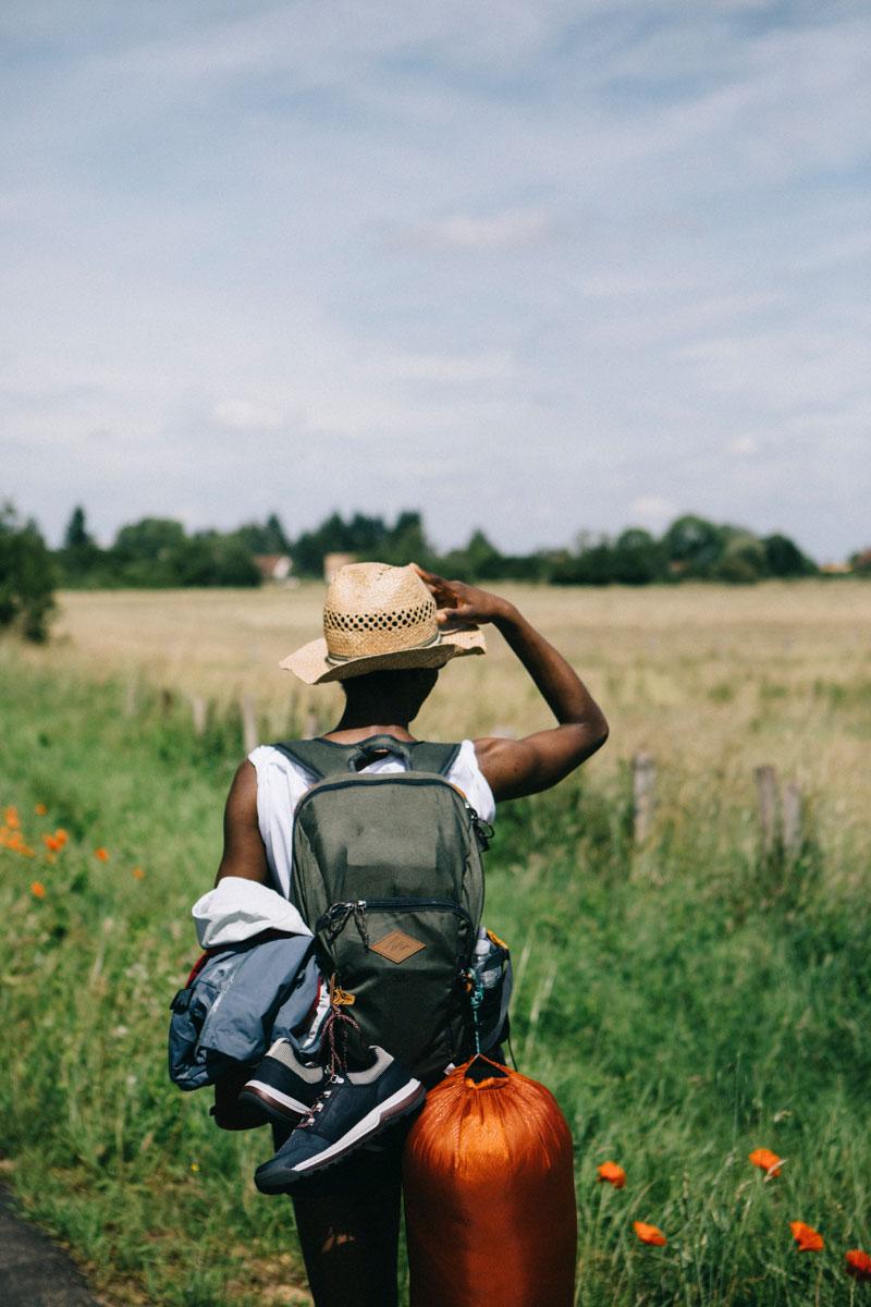 paysage de rambouillet en randonnée