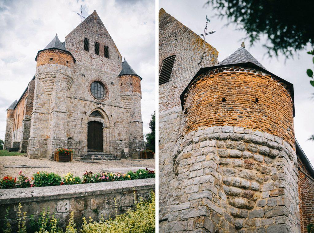 église fortifiée de Marly-Gaumont