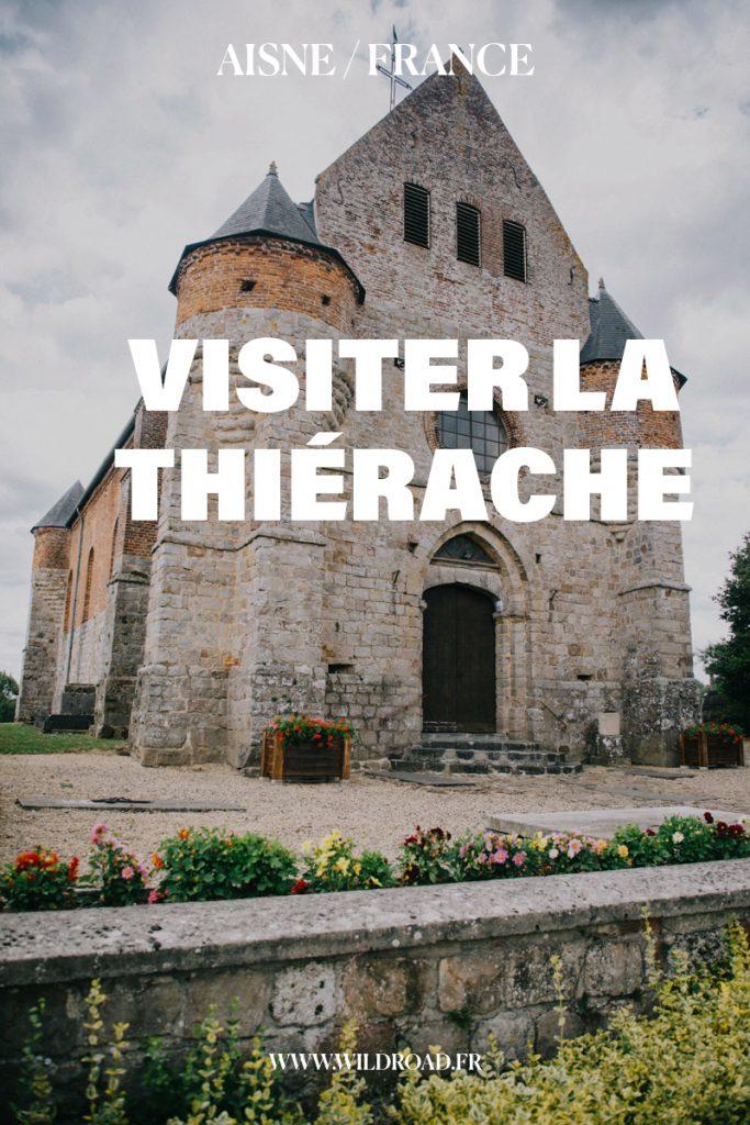 Visiter la Thiérache, ses églises fortifié et l'eurovélo 3