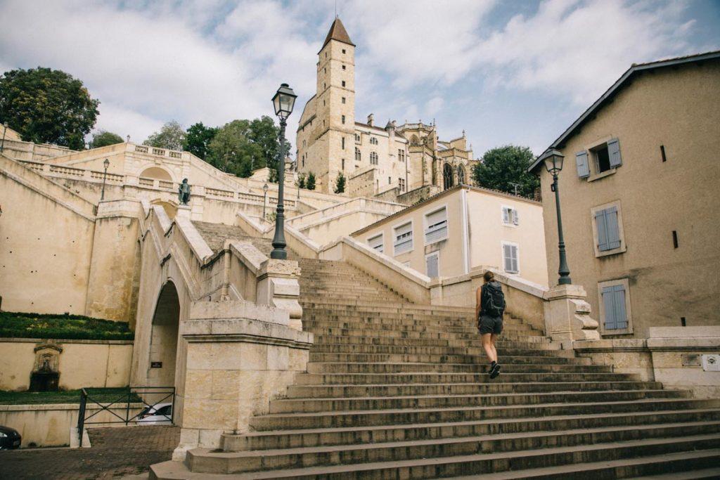 L'escalier monumental d'Auch