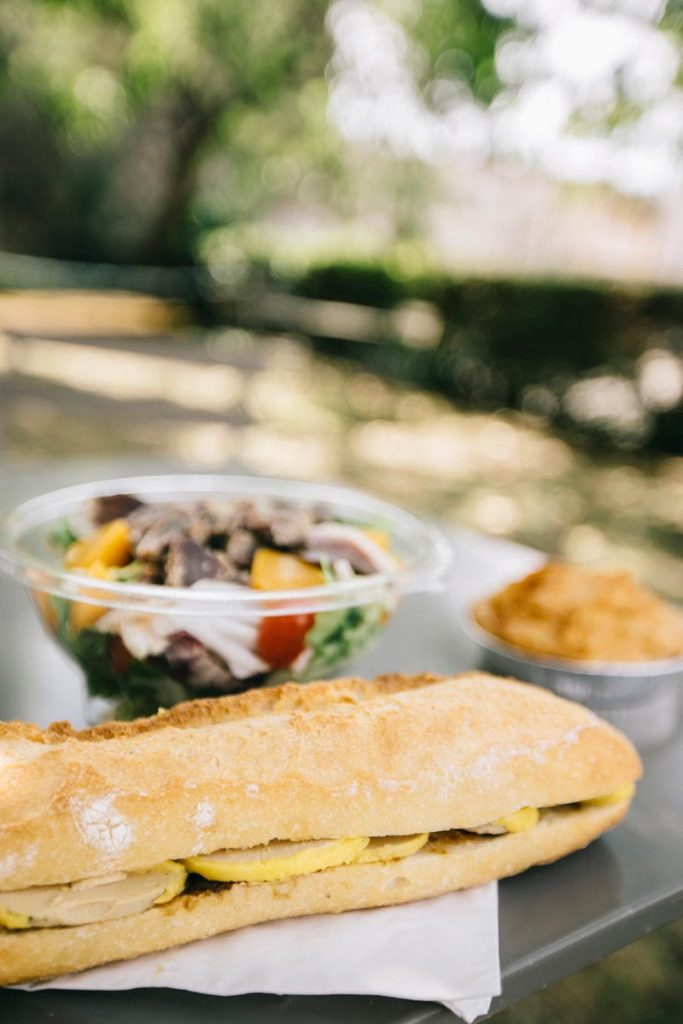 sandwich au foie gras de canard
