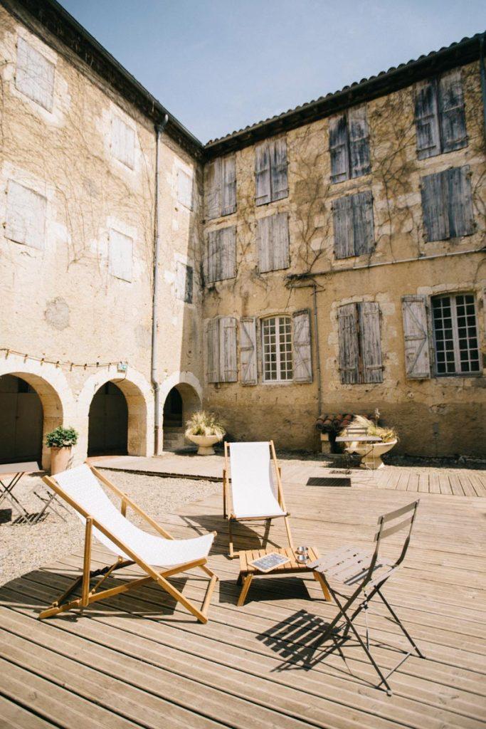cloitre du couvent de Mémento à Auch