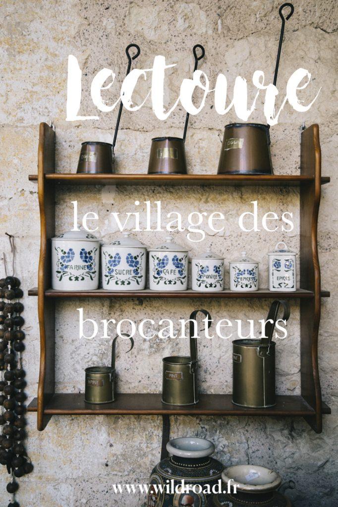 Le village des brocanteurs de Lectoure
