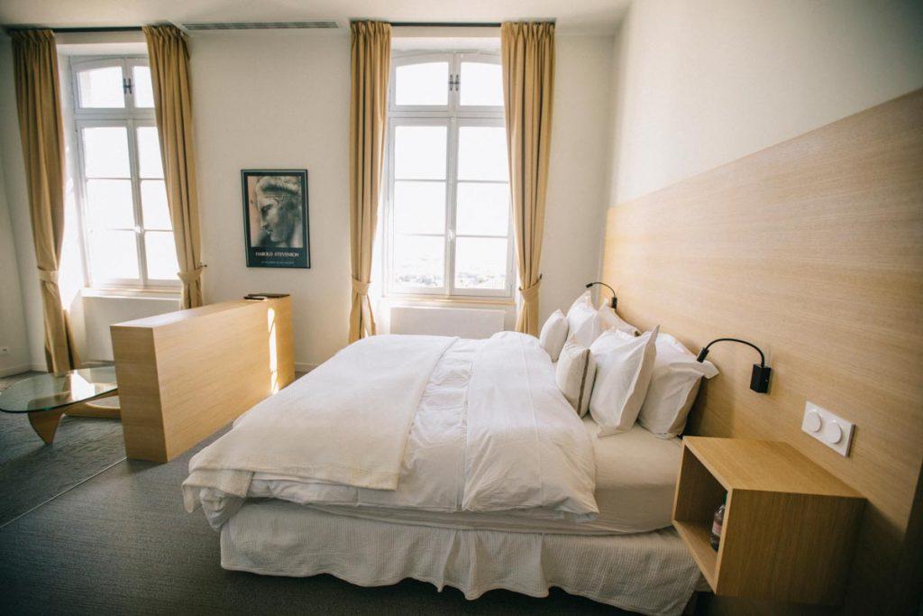 Suite dans la chambre d'hote de l'hôtel Guilhon