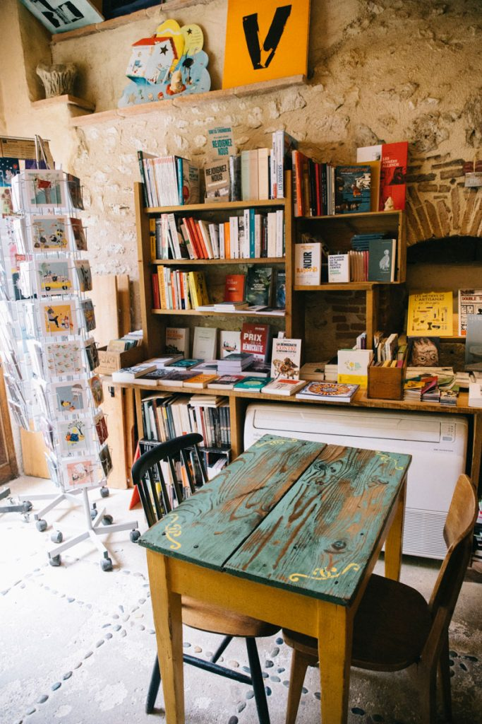 la librairie tartineriez de Sarrant