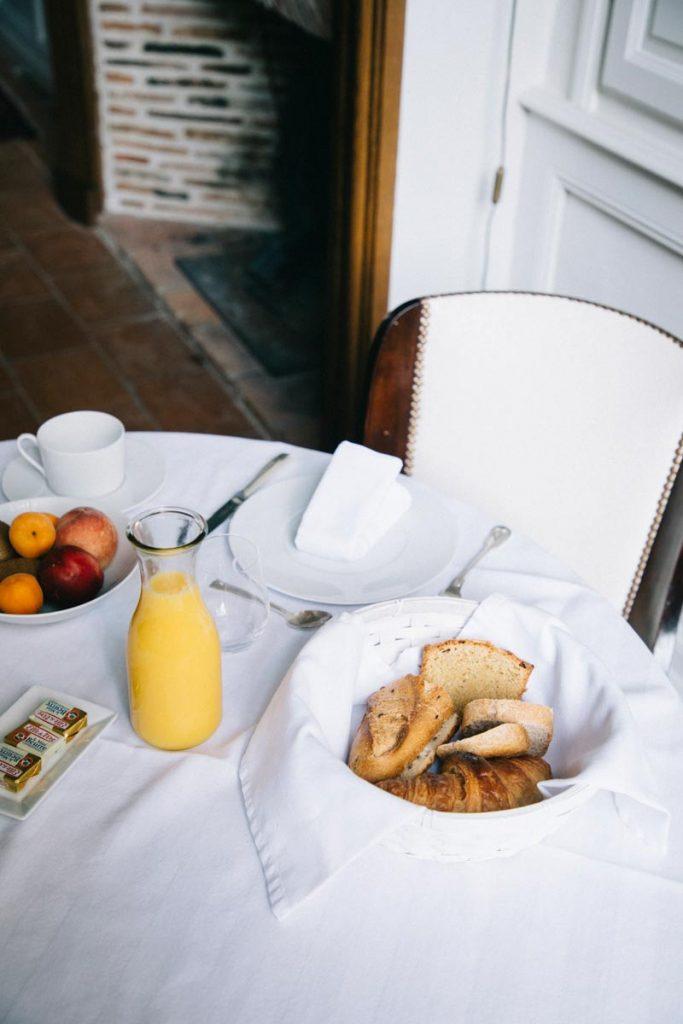 petit-déjeunerons à l'hôtel particulier de Guilhin