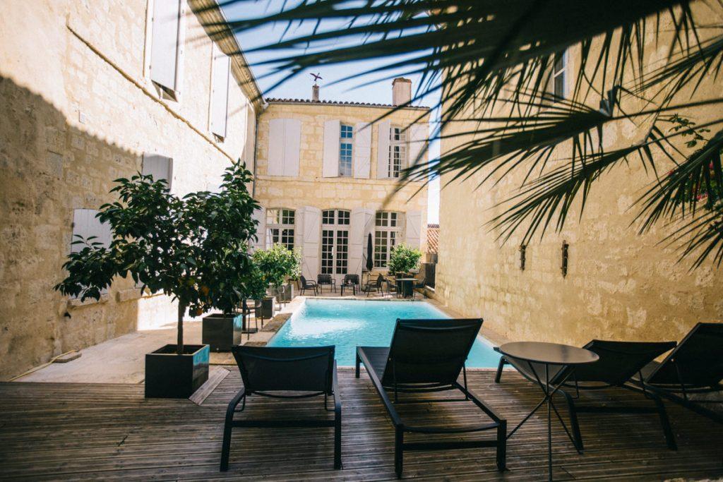 l'hôtel particulier de Guilhon à Lectoure