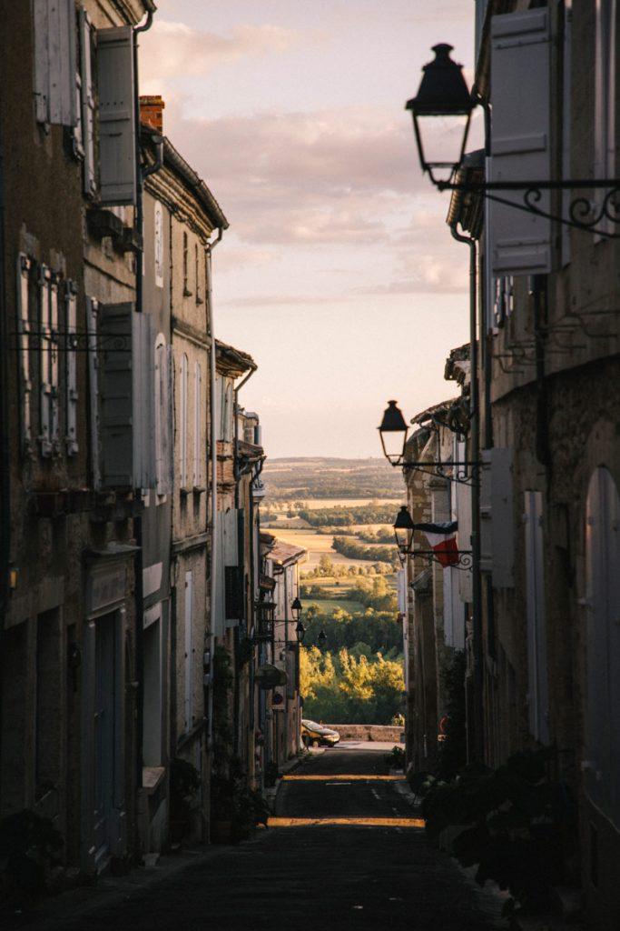 visite guidée dans les rues de Lectoure