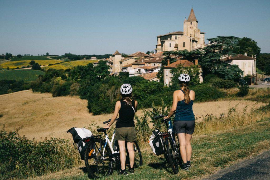Faire une randonnée à  vélo dans le Gers