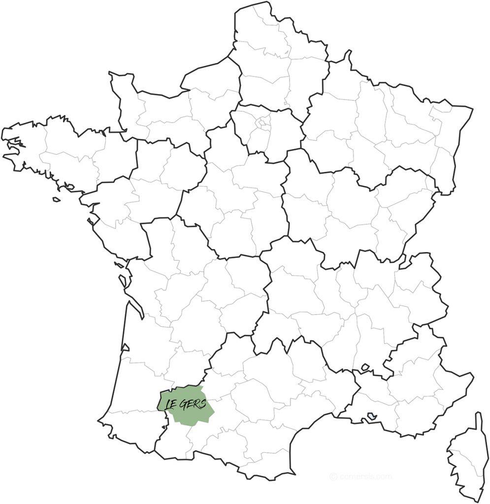 le regios de Gers en France