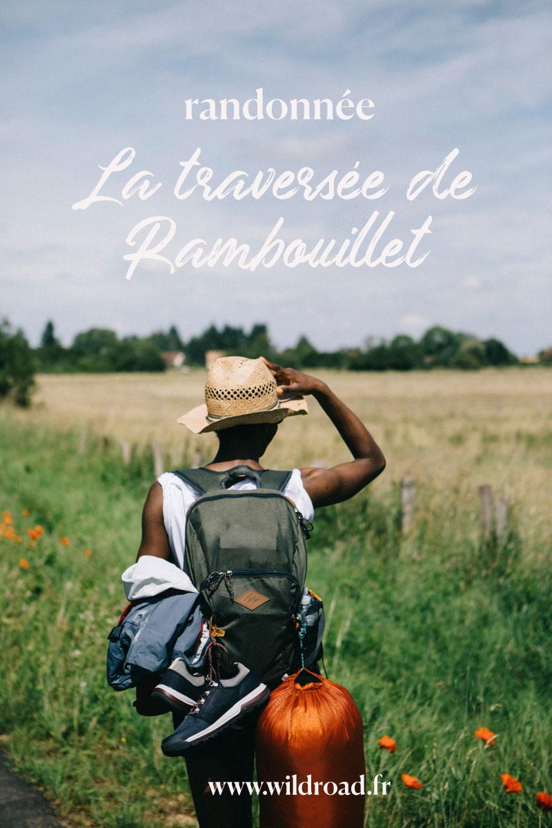 la traversée de la foret de Rambouillet , randonner en île-de-France
