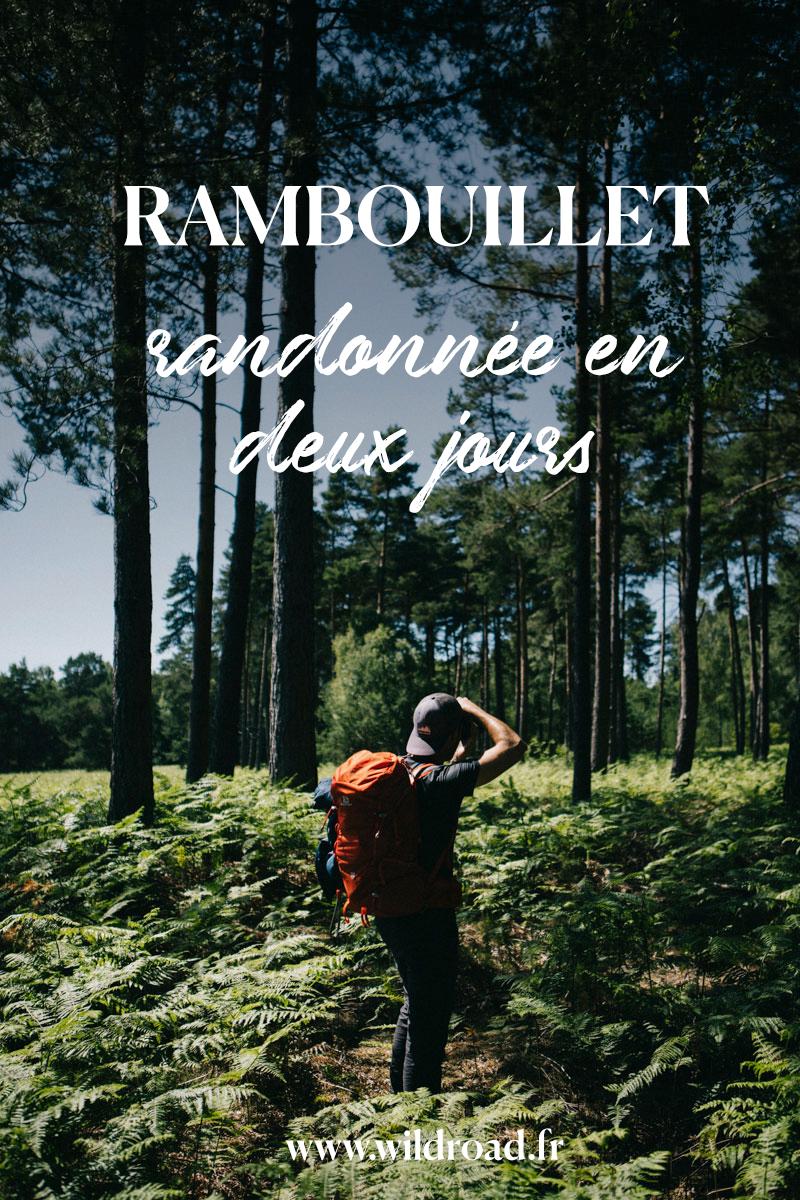 deux jours de randonnée à Rambouillet