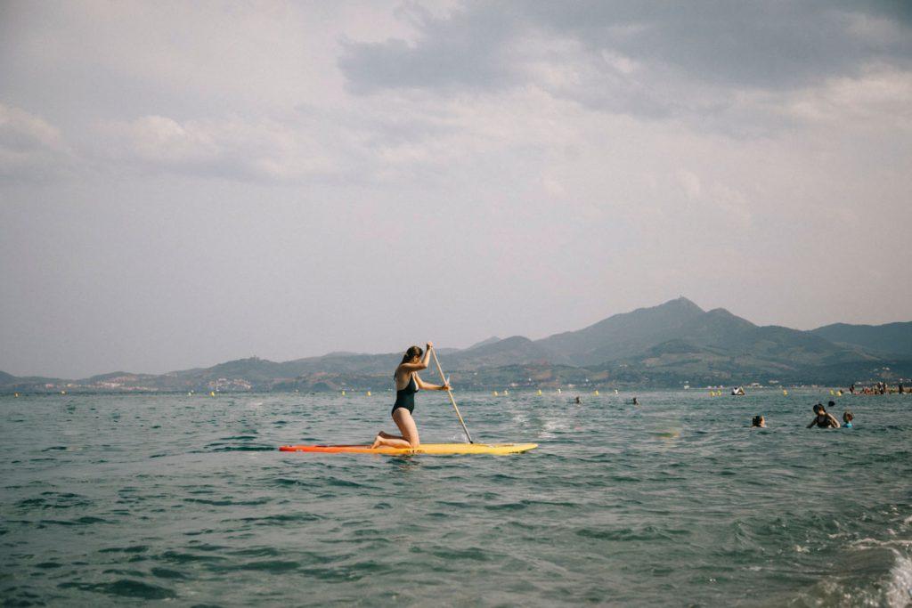 Faire du Paddle à Argelès-sur-mer