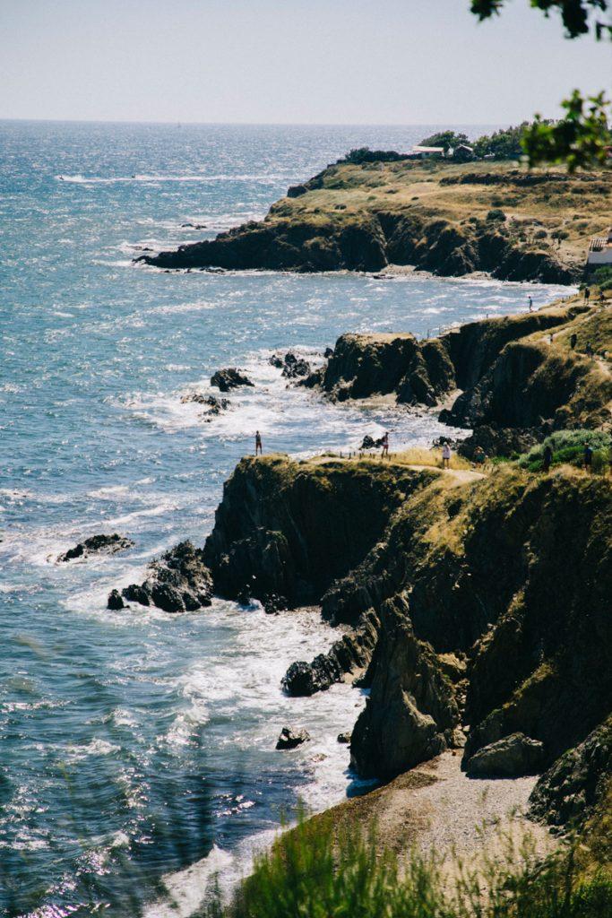Le sentier du littoral à Argelès-sur-mer