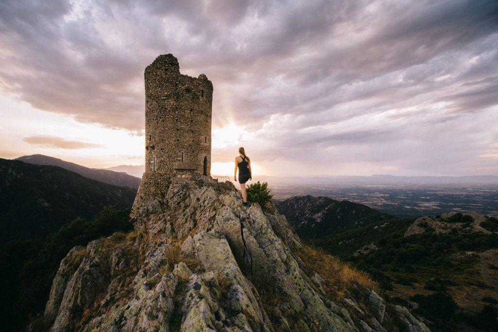 la tour de Massane en randonnée