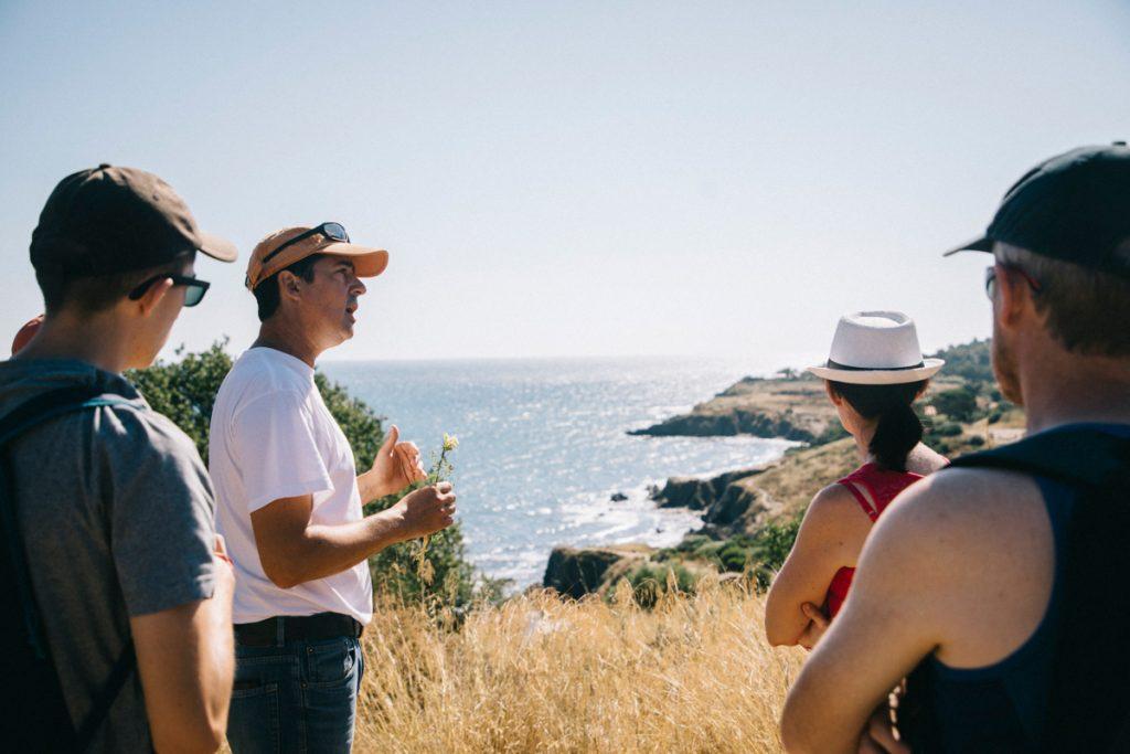 visite guidée du sentier du littoral